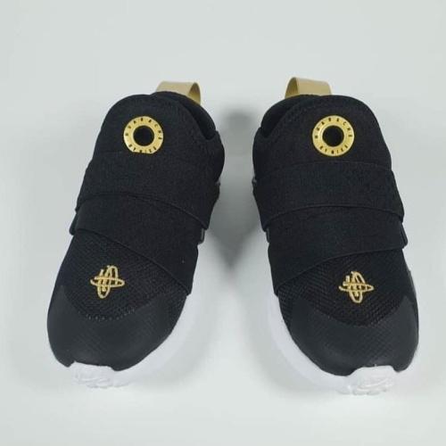 Nike Huarache Run Drive Black Gold Slip