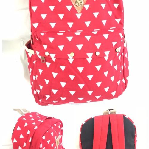 Foto Produk Tas ransel anak remaja dewasa wanita fashion korea kanvas import dari toko centre tas