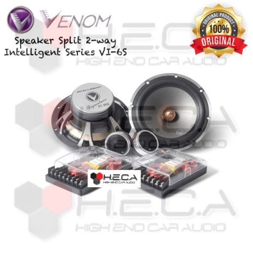 Foto Produk VENOM Intelligent Series VI-6S Speaker Split Pintu Mobil 2-Way VI6S dari High End Car Audio