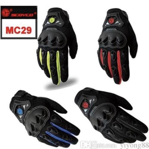 Foto Produk Sarung tangan SCOYCO MC 29/MC29 FULL/ Gloves Scoyco MC29, ORIGINAL dari Kitaro MotorShop