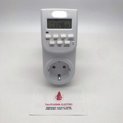 Foto Produk STOP KONTAK TIMER DIGITAL GOOD QUALITY dari Plasma electric