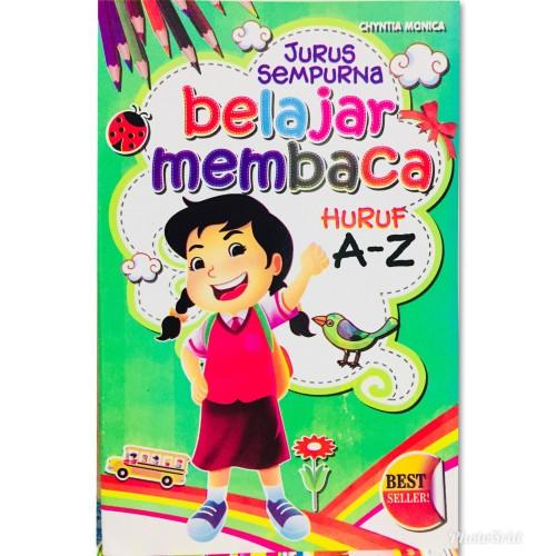 Foto Produk Buku Anak,Belajar Membaca Huruf A-Z dari Toko Buku dan Stationery