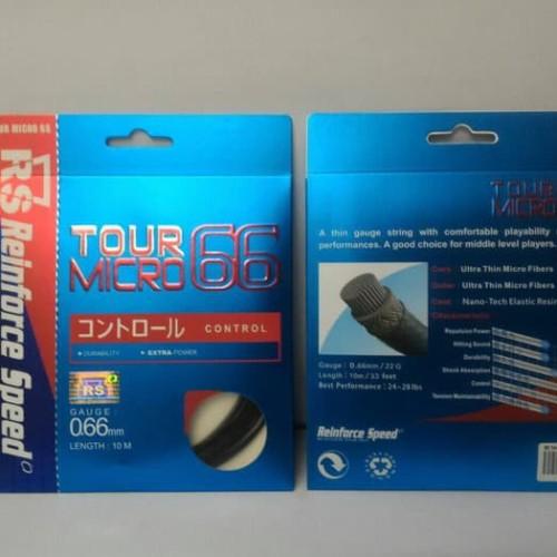 Foto Produk Senar Badminton Rs Tour micro 66 original dari Hebohstore