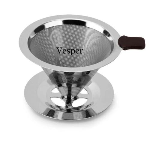 Foto Produk Coffee filter / coffe drip / coffee dripper / saringan kopi stainless dari vesper