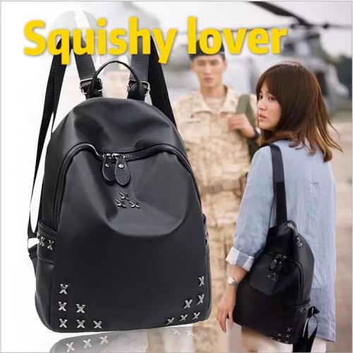 Foto Produk Tas ransel wanita /tas backpack import korea/tas punggung hitem 1 dari squishylover