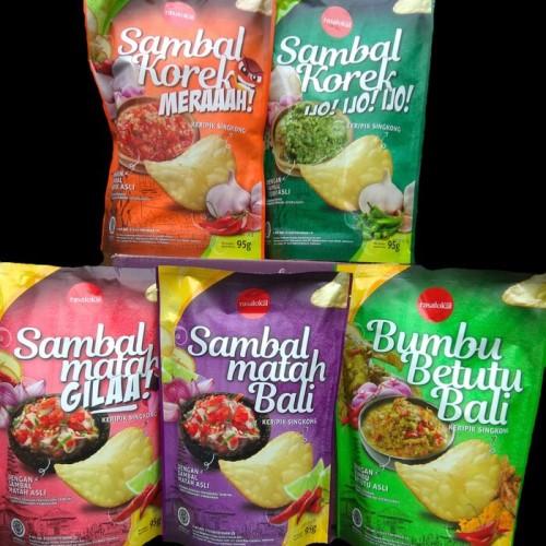 Foto Produk Kripik Singkong RASA LOKAL Khas Bali (5 varian rasa) dari Prema Pie