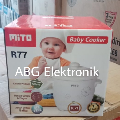 Foto Produk Mito R77 Baby Slow Cooker 0.7 L dari MGP Elektronik