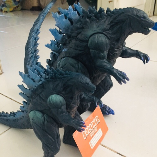 Foto Produk Pajangan Action Figure Godzila Godzilla monster planet kaiju jumbo dari Boluner-Shop