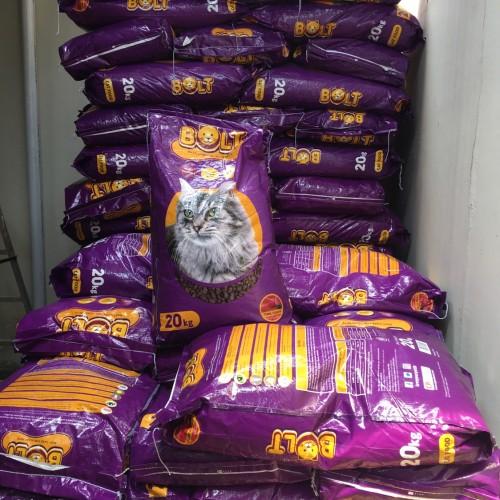 Foto Produk Bolt 20kg rasa tuna ,setara sabina,maxi ,leandro cuties universal dari Grosiran Petshop Bekasi