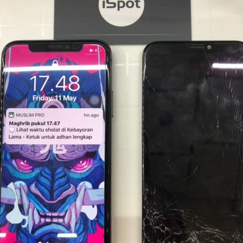 Foto Produk LCD iPhone X ORIGINAL QUALITY / Grade ORI 99. - GX OLED dari iSpot Indonesia