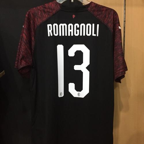 Foto Produk Jersey AC milan third 2018-19 Romagnoli Original dari id_us football