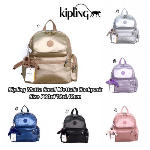 Foto Produk *Kipling Matta Small Mettalic Backpack dari DOLPHINHELPER