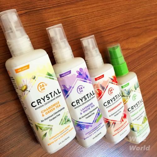 Foto Produk Crystal Essence Mineral Deodorant Body Spray Assorted 118 ml dari Whiz World