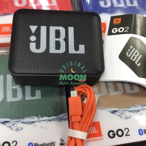 Foto Produk Jbl go 2 speaker bluetooth wireless portable by harman go2 oem dari original moon