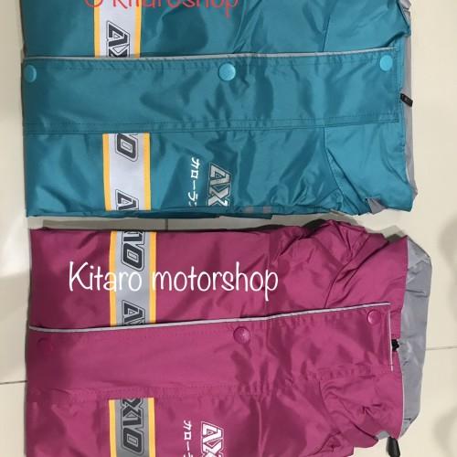 Foto Produk jas hujan AXIO khusus PINK dan Tosca - XL hitam dari Kitaro MotorShop