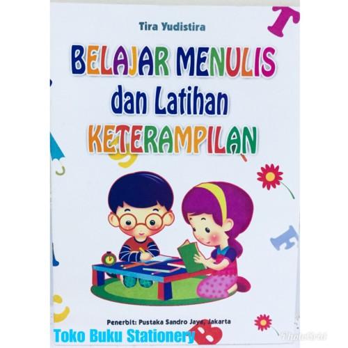 Foto Produk Buku Anak Belajar Menulis dan Latihan Keterampilan Untuk TK/SD Kelas 1 dari Toko Buku dan Stationery