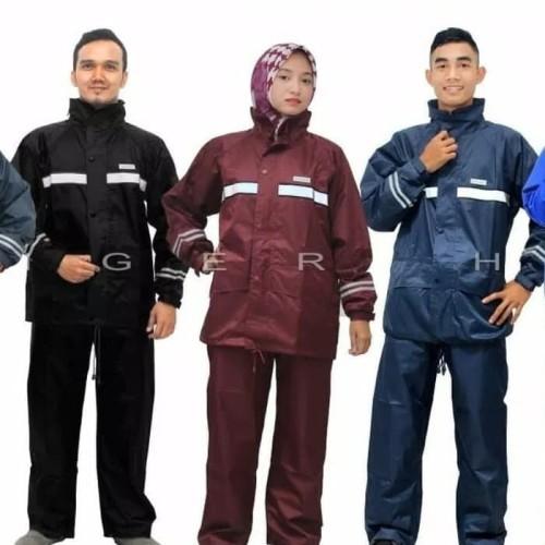 Foto Produk Jas Hujan Baju Celana TIGER HEAD METRO SIZE S 68300 dari indonline12