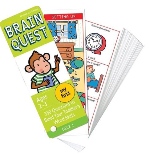 Foto Produk Brain Quest - Ages 2-3 Revised 4th Edition Mainan Edukasi dari My Own Flashcards