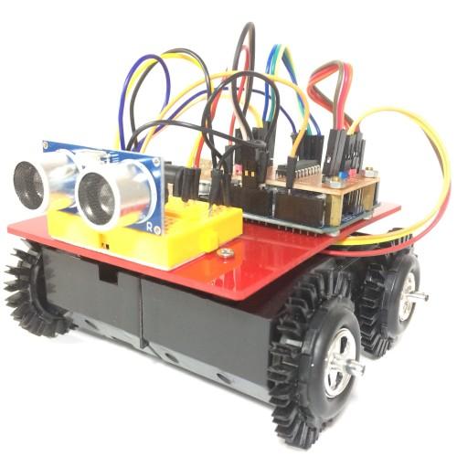 Foto Produk Robot Mobile Avoidance Arduino Ultrasonic Sensor Fullset Plus Modul dari Tokunik