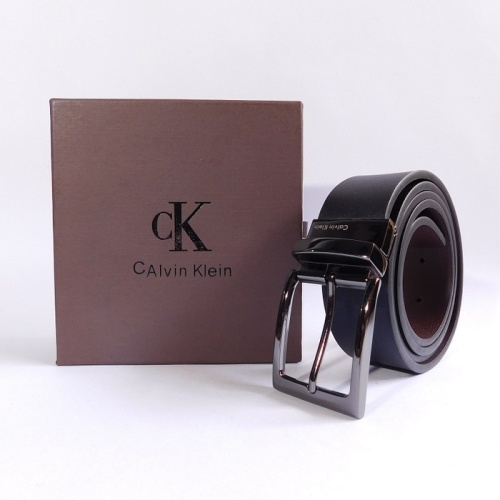 Foto Produk GESPER IKAT PINGGANG KULIT PRIA IMPORT BRANDED CASUAL   CK 13 BLACK dari LA VIVA DOGESTA