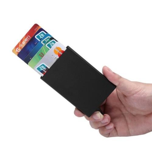 Foto Produk DOMPET PINTAR (SMART WALLET) Credit Card Holder Metal Case With RFID dari Kiddies World