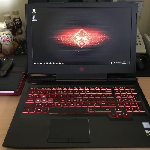 Foto Produk HP OMEN 15 CE087TX i7 7700HQ 16GB SSD 256GB+1 TB GTX1060 6GB ALIENWARE dari Mac Thinkpad Lover
