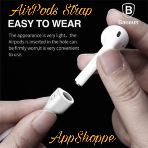 Foto Produk Baseus Magnetic Airpods Strap Anti-lost Silicone ORIGINAL dari AppShoppe