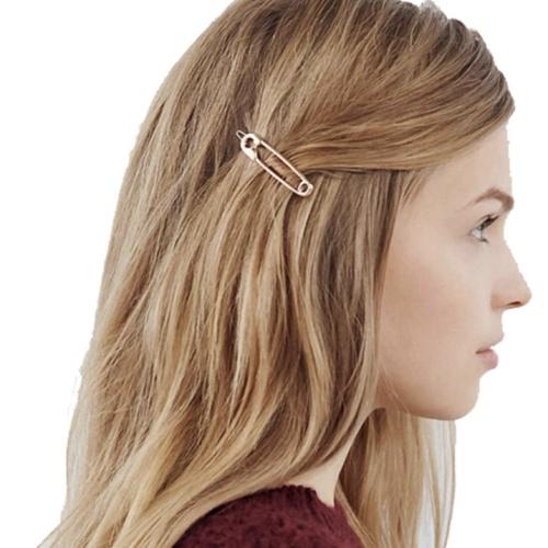 Foto Produk Hair Clip Simple Hairpins Hair Stick Girl penjepit rambut dari Venditionis_shop