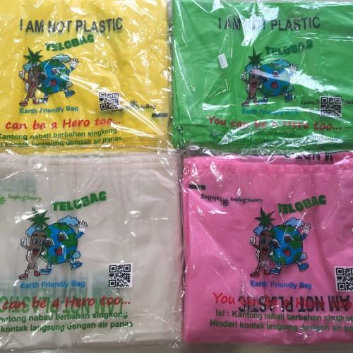 Foto Produk plastik kantong organik singkong size 24, telobag dari All ur needs shop