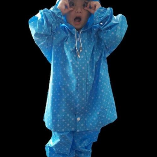 Foto Produk Plevia Star kids Jas Hujan Stelan Anak dari Kitaro MotorShop