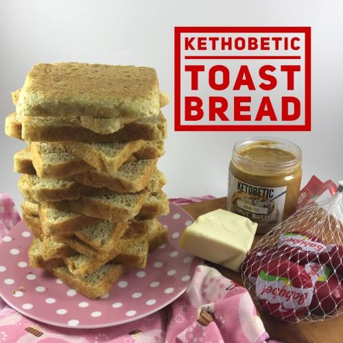 Foto Produk Kethobetic Toast Bread Roti Tawar Keto Original dari Boss Chef
