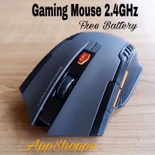 Foto Produk Mouse Wireless Gaming Mirip Fantech Mac Window 10 Vista dari AppShoppe