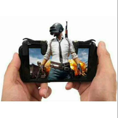 Foto Produk GENERASI 3 Trigger Fire PUBG Tombol Tembak L1 R1 Shooter Controller Hp dari xrbshop168