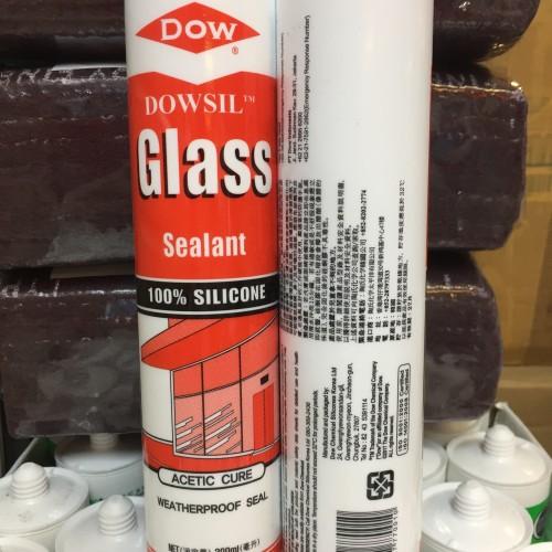 Foto Produk dowsil dow corning asam lem kaca silicone sealant dari Cahaya Mulia Kimia