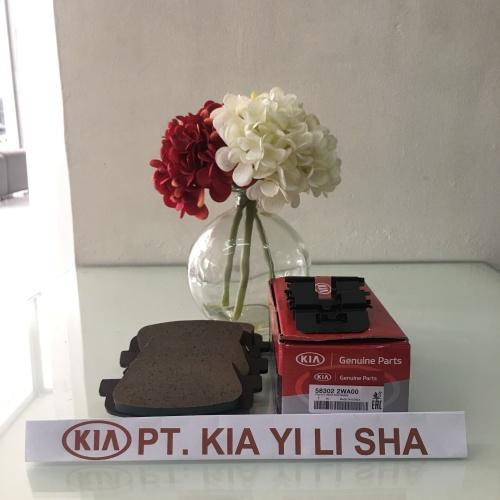 Foto Produk PAD KIT REAR DISC BRAKE - ALL NEW SORENTO - KIA GENUINE PARTS dari KIA YI LI SHA