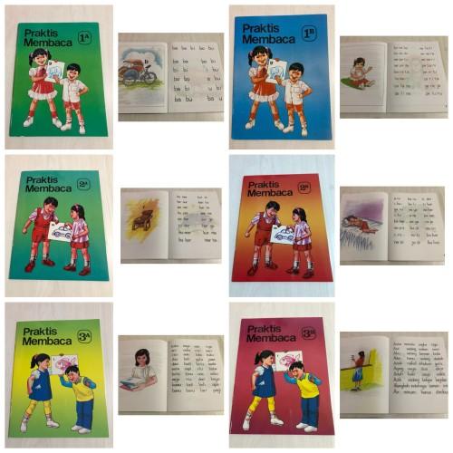 Foto Produk Buku Praktis Membaca 1A 1B 2A 2B 3A dan 3B dari Kinantikomik
