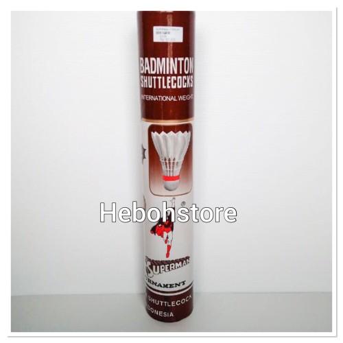 Foto Produk Shuttlecock/kok SUPERMAN COKLAT dari Hebohstore