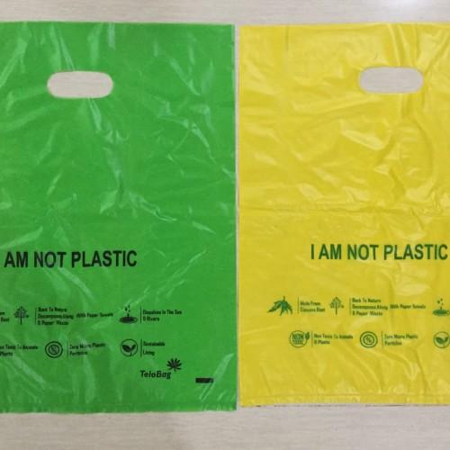 Foto Produk Plastik organik kantong singkong tenteng tengah dari All ur needs shop