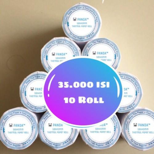 Foto Produk Kertas Kasir Struk Paper Roll 58x40mm Thermal POS Receipt Printer dari PANDA RETAIL SOLUTIONS