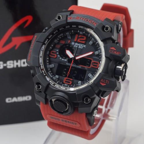 Foto Produk JAM TANGAN PALING LAKU G SHOCK GWG-1000 STRAP MERAH HITAM RED GWG1000 dari Grosirjambogor