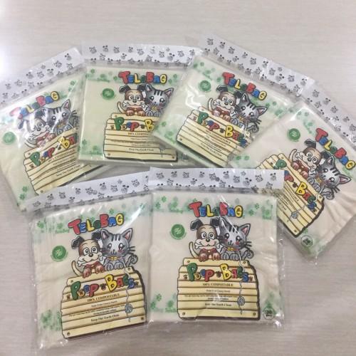 Foto Produk Pets poop bag kantong bungkus organik singkong size 14 telobag dari All ur needs shop