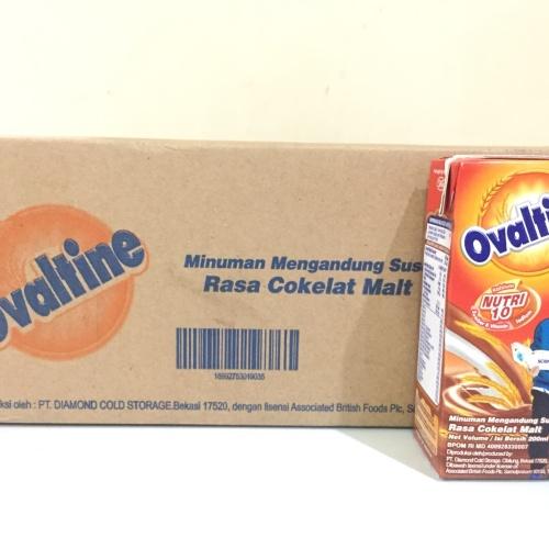 Foto Produk Susu UHT Ovaltine 200ml - Kartonan (24x200ml) GRAB GOJEK ONLY dari Kalimantan Toko