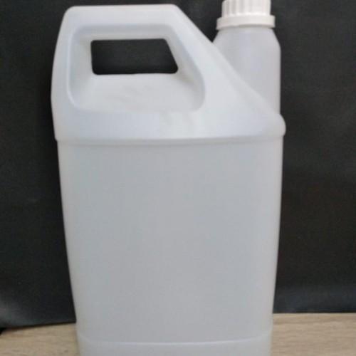 Foto Produk Jerigen 4ltr HDPE baru / 1 galon / 4liter / laundry / 4liter / 4 ltr dari plast pop