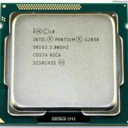 Foto Produk PROCESSOT INTEL DUAL CORE G2030 + FAN ORI SOCKET 1155 dari iconcomp