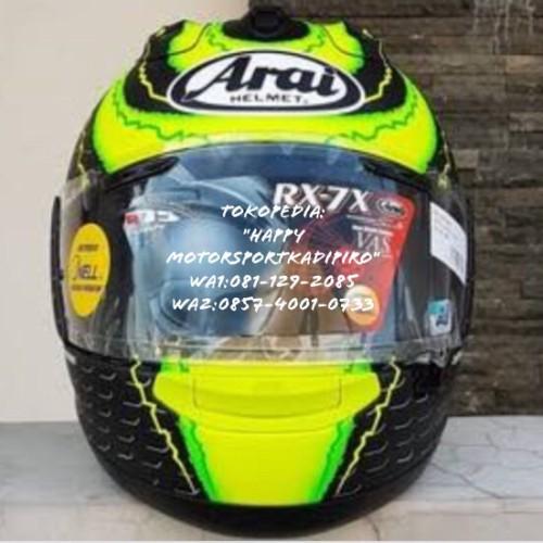 Foto Produk SALE!! Helm fullface Arai Original Japan RX7X Cal Crutchlow size XL dari Happy MotorsportKadipiro