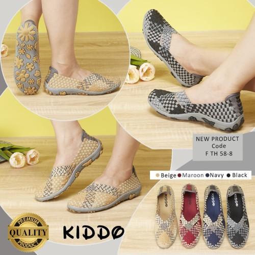 Foto Produk Kiddo fth58-8 flat ORI sepatu rajut IMPORT dari PinkshopJkt