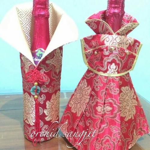 Foto Produk baju wine sangjit dari Orchid sangjit
