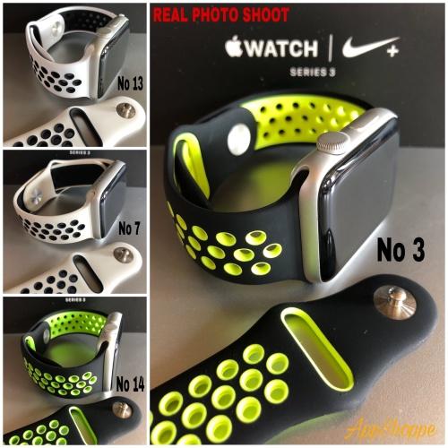 Foto Produk Apple Watch iWatch 42mm Nike Strap Replacement Wristband dari AppShoppe