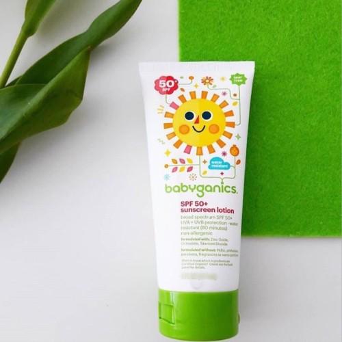 Foto Produk Babyganics Sunscreen SPF50 59ml Water Resistant Sunblock Anak Tahan Ai dari Health Nut Story