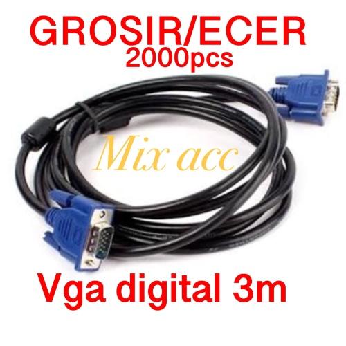 Foto Produk KABEL VGA 3M / VGA 3 METER / VGA 3 M DIGITAL dari Mix acc88